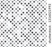 seamless black and white dot... | Shutterstock .eps vector #1316021993