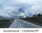 beautiful asphalt road....   Shutterstock . vector #1316046299