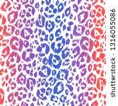textured animal skin trendy...   Shutterstock .eps vector #1316055086