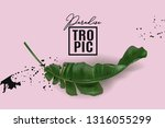 vector advertising banner with... | Shutterstock .eps vector #1316055299