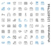 day icons set. collection of... | Shutterstock .eps vector #1316057966