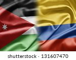 jordan and columbia | Shutterstock . vector #131607470