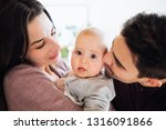 a close up portrait of young... | Shutterstock . vector #1316091866
