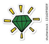 sticker of a cartoon tattoo... | Shutterstock .eps vector #1316095859