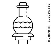 magic potion icon. outline... | Shutterstock .eps vector #1316141663