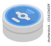 floss box icon. isometric of... | Shutterstock .eps vector #1316156039