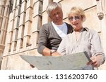 portrait of mature couple... | Shutterstock . vector #1316203760