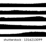 set of horizontal banners of... | Shutterstock .eps vector #1316213099