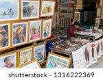 bagan. myanmar. 12 10 2016....   Shutterstock . vector #1316222369