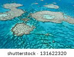 great barrier reef off the... | Shutterstock . vector #131622320