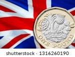 uk pound economy for business... | Shutterstock . vector #1316260190