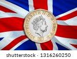 uk pound money of united... | Shutterstock . vector #1316260250