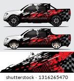 truck decal graphic wrap vector ... | Shutterstock .eps vector #1316265470