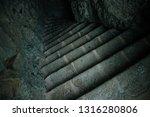 Dark Stairs Dungeon Cave Path...
