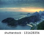 Aerial View On Copacabana And...