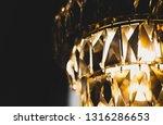 lamp crystal scales closeup | Shutterstock . vector #1316286653