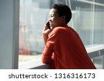 close up portrait of happy... | Shutterstock . vector #1316316173