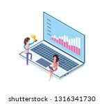 business problems solution... | Shutterstock .eps vector #1316341730