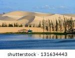 White Sand Dune In Mui Ne ...