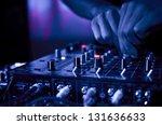 dj music night club | Shutterstock . vector #131636633