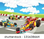 the formula race   super car  ... | Shutterstock . vector #131638664