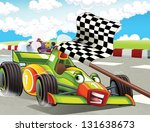 the formula race   super car  ... | Shutterstock . vector #131638673