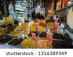 spice market  istanbul  turkey  ... | Shutterstock . vector #1316389349