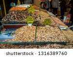 spice market  istanbul  turkey  ... | Shutterstock . vector #1316389760