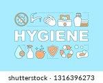 hygiene word concepts banner....