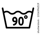 wash at 90 degree or bellow... | Shutterstock .eps vector #1316396519