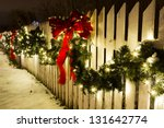 Historic Farm Decorated With...