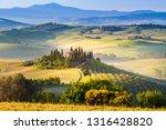italy  tuscany  san quirico d... | Shutterstock . vector #1316428820