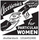 accessories for women | Shutterstock .eps vector #1316452400