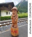 gadmen  switzerland   june 29...   Shutterstock . vector #1316456240