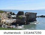 Big Boulders At Sea Right Along ...