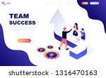 modern flat design isometric... | Shutterstock .eps vector #1316470163
