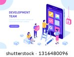 people team develop mobile...