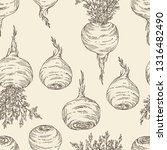seamless pattern with maca...   Shutterstock .eps vector #1316482490