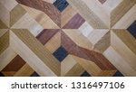 parquet and plank floor ... | Shutterstock . vector #1316497106