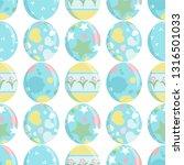 vector seamless endless pattern.... | Shutterstock .eps vector #1316501033