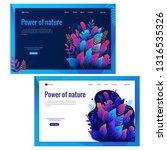 banner  site  poster template ... | Shutterstock .eps vector #1316535326