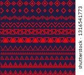 ethnic vector pattern in...   Shutterstock .eps vector #1316541773