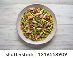 chili avocado zesty quinoa... | Shutterstock . vector #1316558909