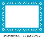 blue photo picture art frame... | Shutterstock .eps vector #1316572919