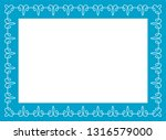 blue photo picture art border... | Shutterstock .eps vector #1316579000