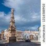 ostuni  puglia  italy  ... | Shutterstock . vector #1316588903