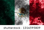 old mexico grunge background... | Shutterstock . vector #1316595809