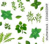 spice seamless pattern. food... | Shutterstock .eps vector #1316602049