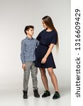 portrait of teenagers standing...   Shutterstock . vector #1316609429