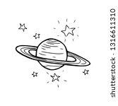 cartoon style vector... | Shutterstock .eps vector #1316611310